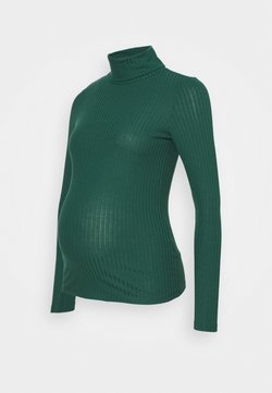 New Look Maternity - ROLL NECK - Camiseta de manga larga - dark green