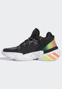 adidas Performance - D.O.N. ISSUE 2 UNISEX - Zapatillas de baloncesto - core black/footwear white/solar red