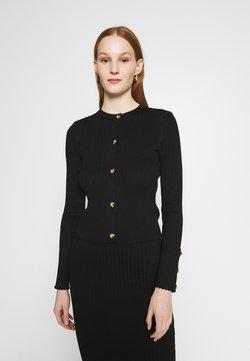 New Look - DRESS AND CARDI SET - Vestido de punto - black
