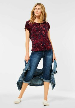 Cecil - T-Shirt print - red