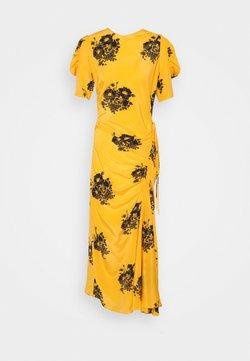 N°21 - FLORAL PRINT DRESS - Maxikleid - dark yellow