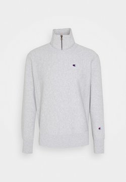 Champion Reverse Weave - HALF ZIP - Sweater - mottled light grey