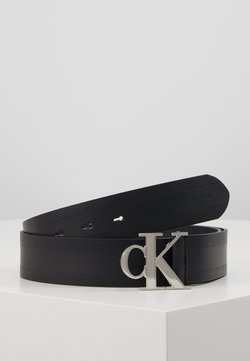 Calvin Klein Jeans - GYM CLASS MONOGRAM 35MM - Vyö - black