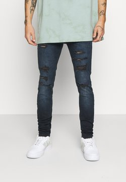 Jack & Jones - JJILIAM JJORIGINAL  - Slim fit -farkut - blue denim
