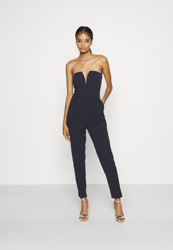 WAL G. - DEAN CUPPED  - Jumpsuit - navy blue