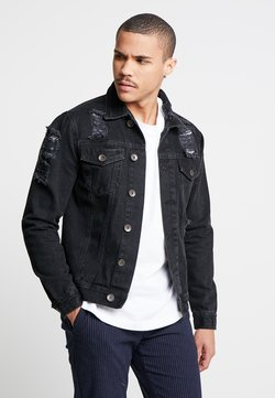 Redefined Rebel - JASON JACKET - Spijkerjas - lava stone
