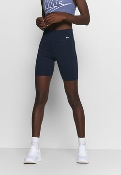 Nike Performance - ONE SHORT - Tights - obsidian/white