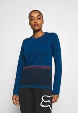 ION - TEE SEEK - Maglietta a manica lunga - ocean blue