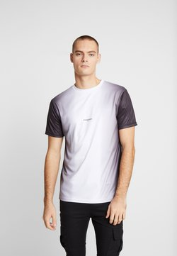 Daily Basis Studios - MIDDLE FADE TEE - Print T-shirt - white