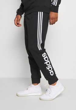 adidas Performance - ESSENTIALS TRAINING SPORTS PANTS - Jogginghose - black/white