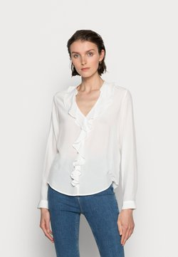 Anna Field - Blouse with volant - Camicetta - off-white