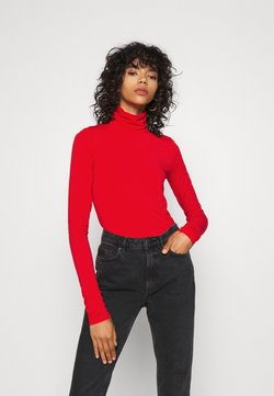 Weekday - CHIE TURTLENECK - Langærmede T-shirts - red