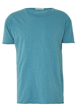 Nudie Jeans - ROGER - T-shirt - bas - petrol blue