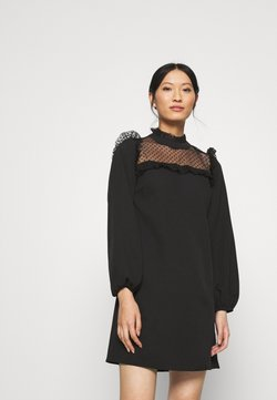 Trendyol - SIYAH - Vapaa-ajan mekko - black
