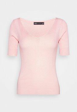 Marks & Spencer London - VEE - T-Shirt basic - light pink