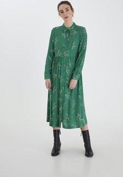 ICHI - Vestido camisero - amazon