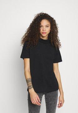Even&Odd Petite - T-shirt basic - black