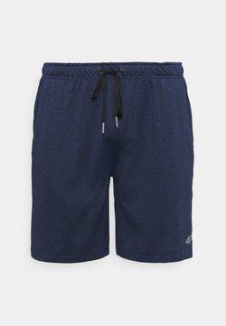 4F - HERREN THANKMAR - Pantalón corto de deporte - black melange