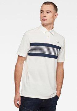 G-Star - Poloshirt - milk/imperial blue