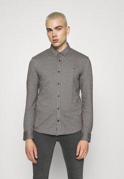 Calvin Klein Tailored - SLIM FIT - Hemd - black