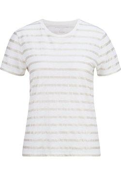 Majestic - T-Shirt print - blanc  silver metal