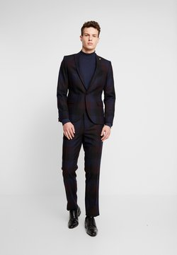 Twisted Tailor - ASHBY SUIT - Anzug - burgundy