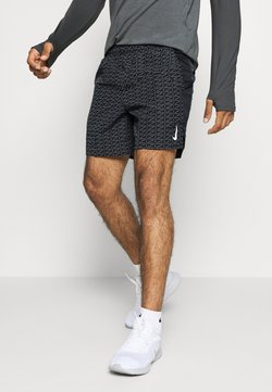 Nike Performance - RUN - Pantalón corto de deporte - black/white
