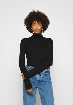 Anna Field - BASIC- TURTLE NECK - Jersey de punto - black
