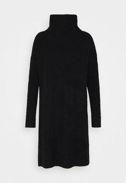ONLY Tall - ONLJANA COWLNCK DRESS  - Vestido de punto - black