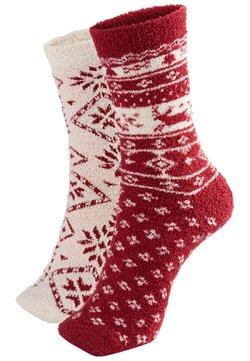 OYSHO - 2 PACK - Socken - red