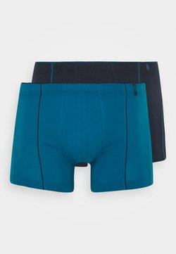 Schiesser - 2 PACK  - Shorty - dark green/blue