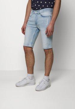 Burton Menswear London - Jeansshort - blue