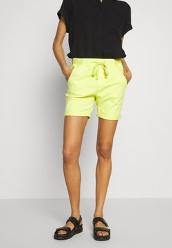 edc by Esprit - SLIM JOGGER - Jeansshort - lime yellow