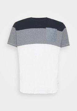 Jack & Jones - JJCONTRAST POCKET TEE CREW NECK - T-shirt imprimé - navy blazer