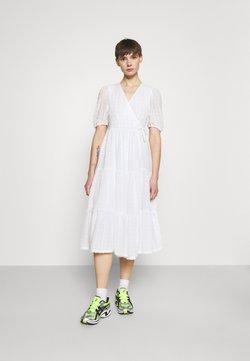 Monki - YOSSE DRESS - Vapaa-ajan mekko - white light