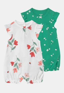 Carter's - 2 PACK - Jumpsuit - green/white