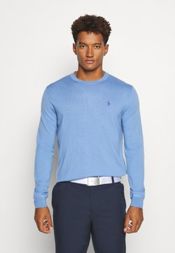 Polo Ralph Lauren Golf - LONG SLEEVE - Strickpullover - fall blue