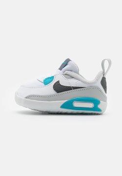 Nike Sportswear - NIKE MAX 90 CRIB - Lauflernschuh - white/iron grey/chlorine blue
