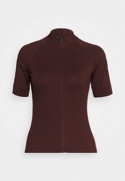 Giro - NEW ROAD - T-Shirt print - ox blood heather