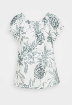 See by Chloé - Bluse - white/green