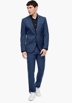 s.Oliver BLACK LABEL - Pantalon de costume - blue