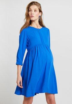 Pietro Brunelli - ANITA - Vestido camisero - victoria blue