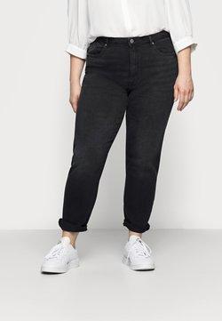ONLY Carmakoma - CARENEDA  - Jeans Straight Leg - black/washed