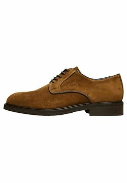 Selected Homme - Stringate - tobacco brown