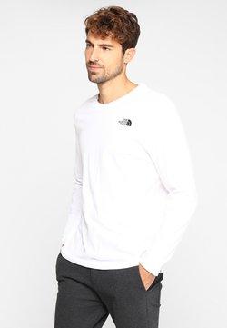The North Face - EASY TEE - Långärmad tröja - white/black