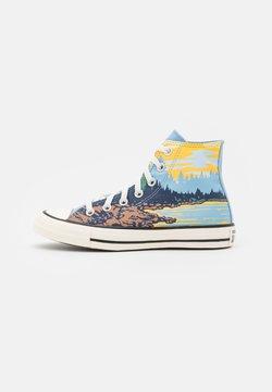 Converse - CHUCK TAYLOR ALL STAR NATIONAL PARKS UNISEX - Sneakers high - sea salt blue/egret/banana cake