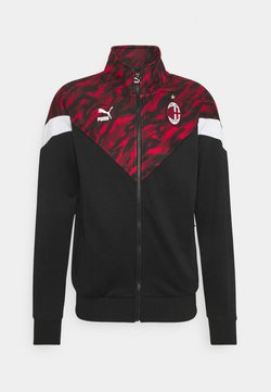 Puma - AC MAILAND ICONIC GRAPHIC TRACK - Club wear - tango red/black