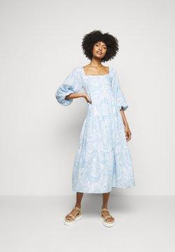 Faithfull the brand - ALISON DRESS - Freizeitkleid - powder blue