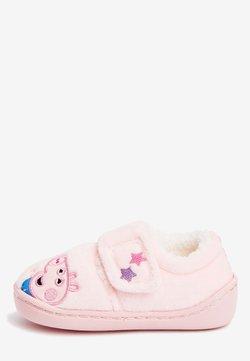 Next - PEPPA PIG CUPSOLE SLIPPERS - Tofflor & inneskor - pink