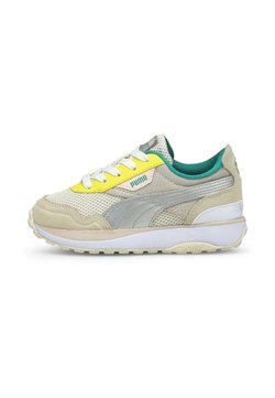 Puma - CRUISE RIDER OCEAN QUEEN PRE-SCHOOL  - Matalavartiset tennarit - eggnog/silver/cloud pink